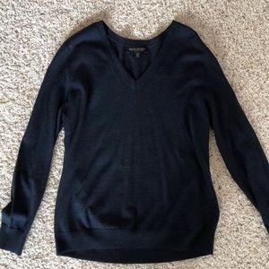 Navy Banana Republic sweater